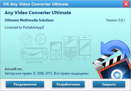 Any Video Converter Ultimate Portable 5.8.1 *PortableAppZ*