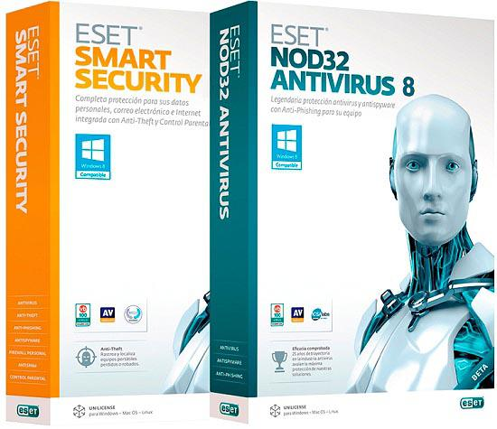 ESET NOD32 Antivirus / Smart Security 8.0.319.1 RePack by KpoJIuK (8-в-1)