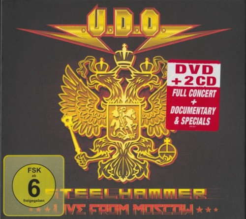 U.D.O. - Steelhammer - Live from Moscow (2014) MP3
