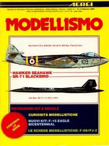 Aerei Modellismo 1985-02