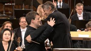 Johannes Brahms - Violinkonzert D-Dur op. 77 (Zimmermann; Jansons) 2015 [HDTV 720p]