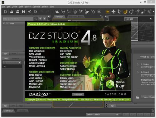 DAZ Studio Pro (x86/x64) v.4.8.0.55 + Extra Addons