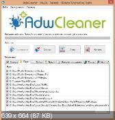 AdwCleaner 4.206 - уничтожение нежелательных панелей в обозревателях интернет