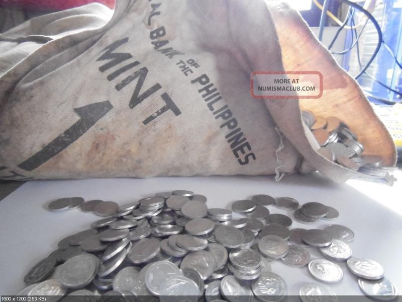 Монеты и банкноты №144 5 гульденов (Суринам), 1 сентаво (Филиппины)