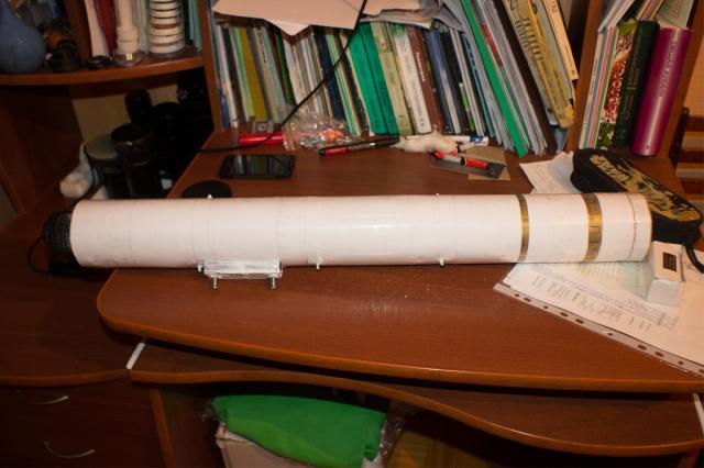 Как сделать простейший телескоп своими руками all-he 48