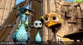 ����� ������ / Gus - Petit oiseau, grand voyage (2014) BDRip-AVC | DUB | ��������