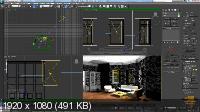 3D моделирование в AUTOCAD. Визуализация в 3DS MAX + Анимация в LUMION (2014/RCRe/Rus)