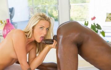 Karla Kush - Beautiful blonde loves massaging BBC ! (2014)