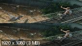Без черных полос (На весь экран)  Мир Юрского периода 3D / Jurassic World 3D   Вертикальная анаморфная