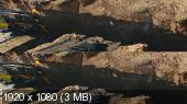 Без черных полос (На весь экран)  Разлом Сан-Андреас 3D/ San Andreas 3D  Вертикальная анаморфная