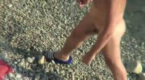 Orgy on the beach -