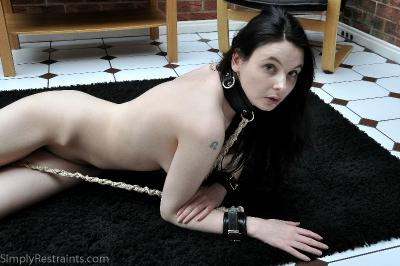 Photoset name: Anna Bonnefoy -  Gold Roped Cuffs